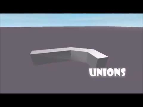 Unions (Solid Modeling) - ROBLOX Building Help