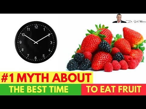 🍒 #1 Myth About The Best Time To Eat Fruit