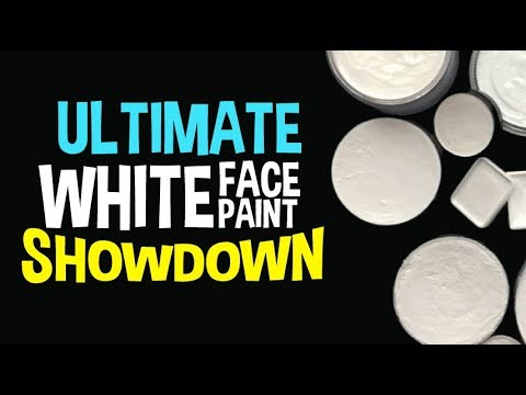 The Ultimate White Face Paint Showdown
