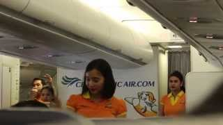 Cebu Pacific Air A330 Flight Experience: 5J805 Manila to Singapore