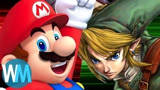 Legend of Zelda vs Super Mario