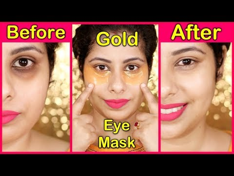 Get Rid of Dark Circles, Puffy Eyes with this GOLD EYE MASK    DearPacker
