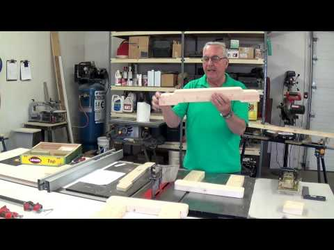 Building A Glider Rocker Love Seat. Video #1