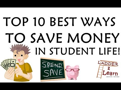 TOP 10 BEST WAYS TO SAVE MONEY IN STUDENT LIFE ! Easiest tips to save money in college life. L2L
