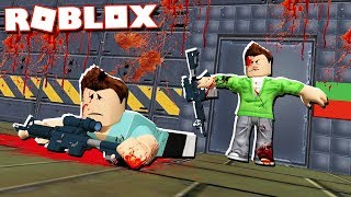Roblox Adventures - ESCAPE AREA 88 KILLERS IN ROBLOX! (Area 88)