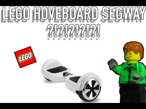 How To Build Lego Hoverboard Segway w/ Joy