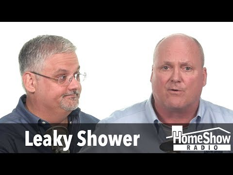 Should there be a shower pan under a shower seat?