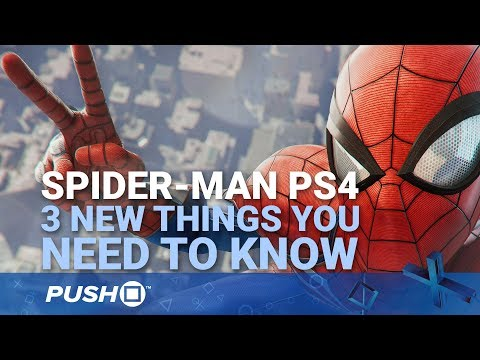 Spider-Man PS4: New Gameplay Details - Web Swinging Controls, Combat, Open World | PlayStation 4
