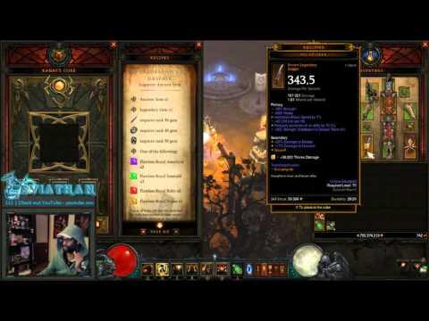 [Diablo 3] How To Augment Your Gear With Caldesann's Despair