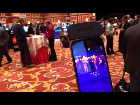 FLIR One thermal camera for iOS w/ Lightning Connector- CES 2015