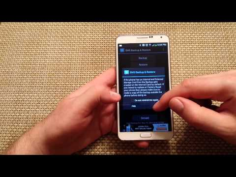 how to backup and restore your text messages on a android phone sms backup and restore