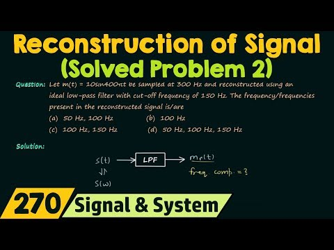 Reconstruction of Signal (Solved Problem 2)