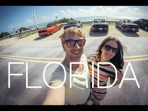 Road Trip Florida (Miami, Key West, Orlando) || Gopro Hero4 60fps