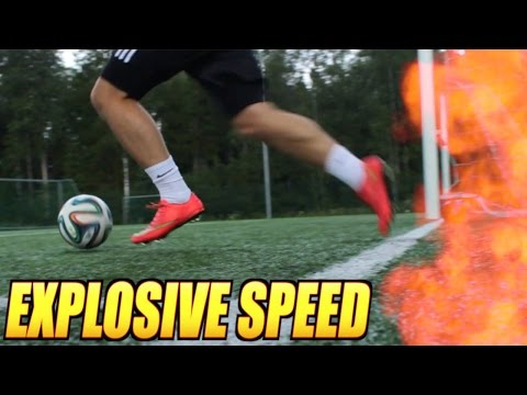 Get Faster For Football - EXPLOSIVE Speed Training