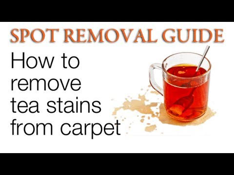 How to Remove Tea Stains from Carpet | Spot Removal Guide