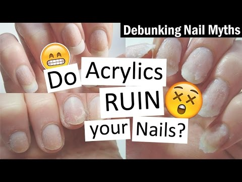Do Acrylics RUIN Your Nails? | Debunking Nail Myths with Nailed It NZ