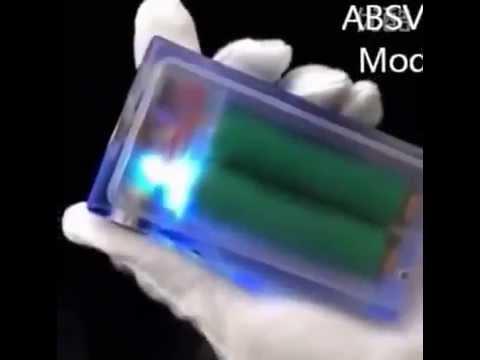 ABS Box Mod v2 mod   Clear color E Cigarette box   Colorful Light Vapor Box Acrylic ABS V2 Box