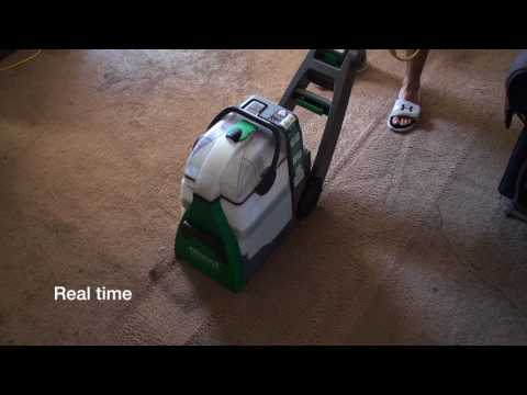 Bissell BigGreen in Action (pet stains & order) [2 of 2]