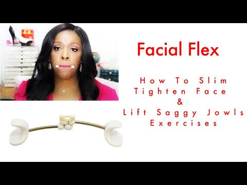 How To Slim, Tighten Face and Jawline - Exercises