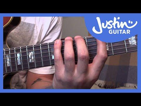 Guitar Techniques - Finger Stretching Exercise - Guitar Lesson [TE-007]