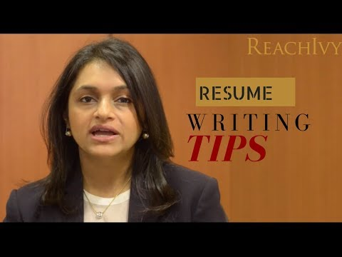 Resume - 6.2 How to write an effective resume? | MS Admissions | ReachIvy