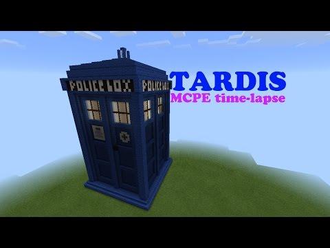 [Minecraft Pocket Edition] TARDIS time-lapse