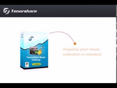 Tenorshare Music Cleanup - Remove iTunes Duplicates and Complete Music ID 3 Information