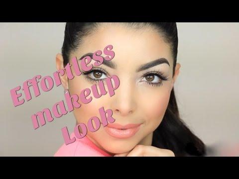 Effortless Super Simple Makeup Look | Kamilabravo