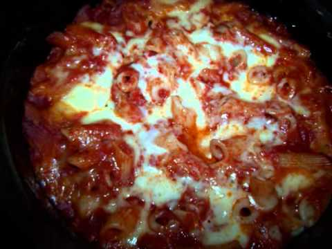 Slow Cooker Baked Pasta Recipe