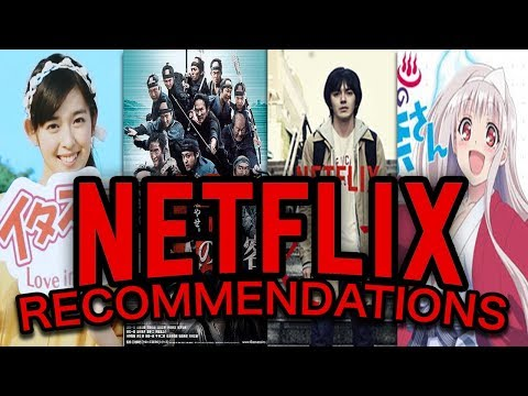 My Favorite Netflix Movies and TV Shows to Practice Japanese!!
