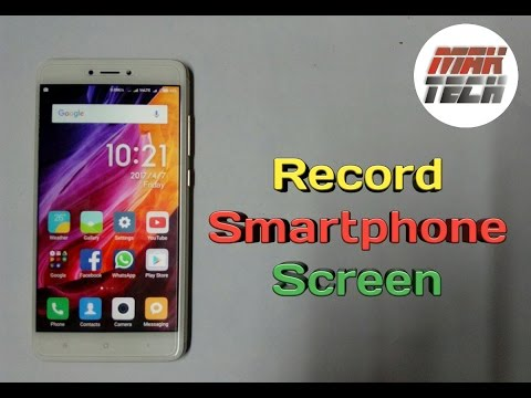 How to record smartphone screen easily | step by step | in Hindi