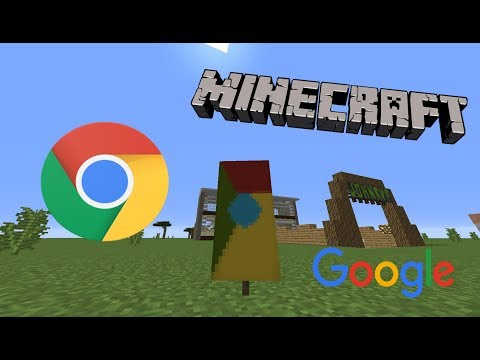 How to make a Google Chrome Banner in Minecraft!