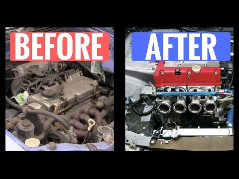 How To Clean/Degrease Your Car Engine Bay - Quick & Easy