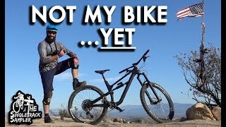 Trying out the 2019 Canyon Spectral  // Singletrack Sampler