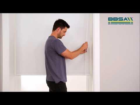 BBSA Make It Safe - How To Make Roller Blinds Safer