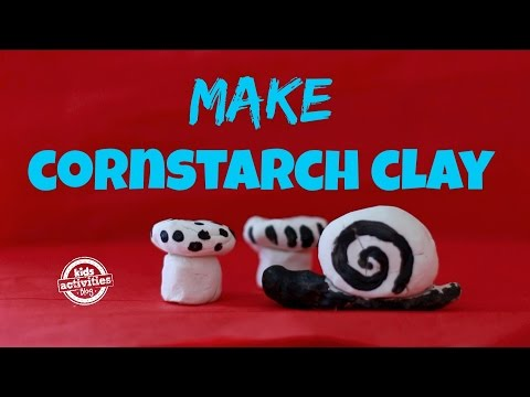Make Your Own Clay from Cornstarch!