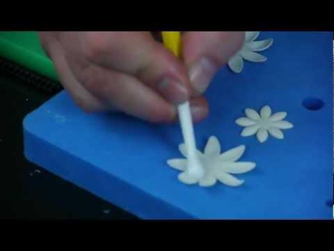 How to make a sugar daisy