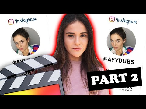 How To Make A YouTube INSTAGRAM Overlay (Part 2)