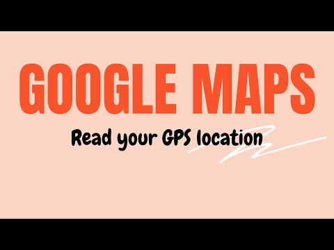 GoogleMap | How to read your GPS location? | Android Studio