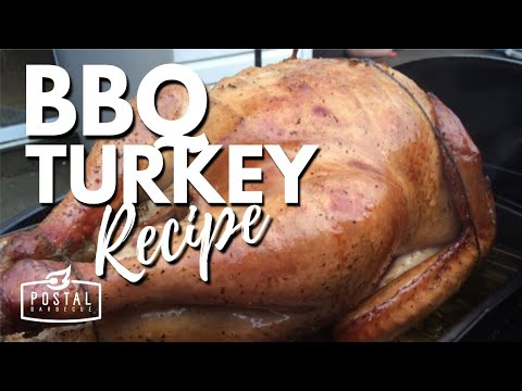 BBQ Turkey Recipe | How to BBQ A Turkey