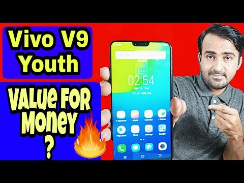 ViVO V9 Youth Unboxing And Review I (Snapdragon 450,4/32 GB) in Hindi 2018 !!!🔥🔥