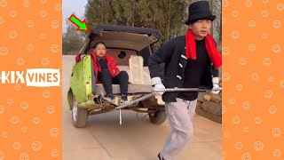 Funny videos 2021 ✦ Funny pranks try not to laugh challenge P176