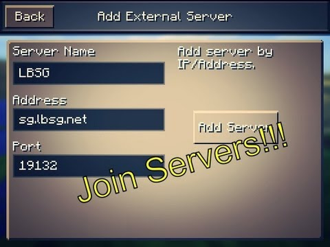 How to join servers in Minecraft Pocket Edition 0.7.5!! [No Jailbreak]