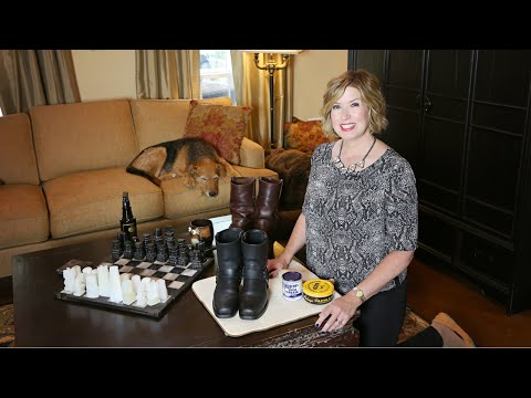 How To Clean and Waterproof Leather Boots For Fall | Don't Look Under The Rug® with Amy Bates