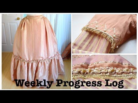 Weekly Progress Log #7 : Sewing & Costumery