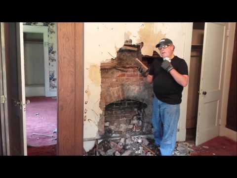 Wisteria Fireplace Reveal