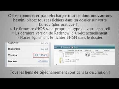 Passer d'iOS 6 à iOS 5.1.1 [VDD #15]