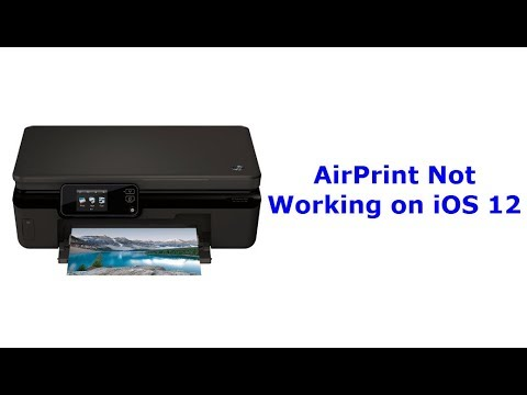 AirPrint Not Working After iOS 12 Update (Fixed)