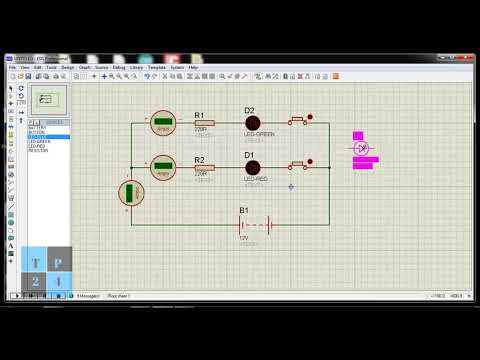 Proteus Simulation Software : Series &  Parallel circuits, Divider Circuits And Kirchhoff's Laws