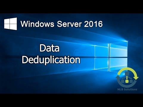 06. How to configure Data Deduplication on Windows Server 2016 (Step by Step guide)